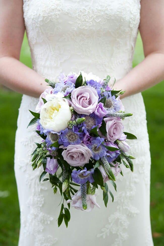 Scabiosa Flower Bouquet