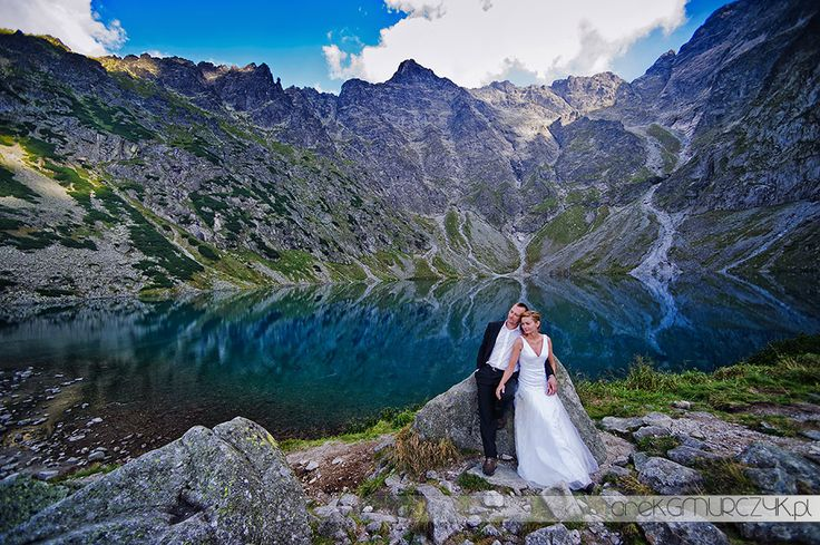 just perfect place for wedding photo. Tatry, Poland.