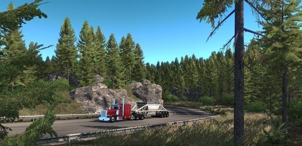 American Truck Simulator heads up north to Oregon