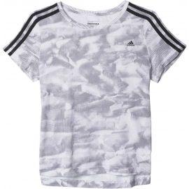 adidas ESSENTIALS BOXY TEE PAPERPRINT - Dámské tričko - adidas