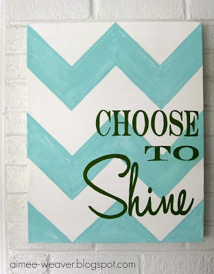 Want to put this in my laurndry room once I paint it!! but do maybe black and white chevron with Blue letters