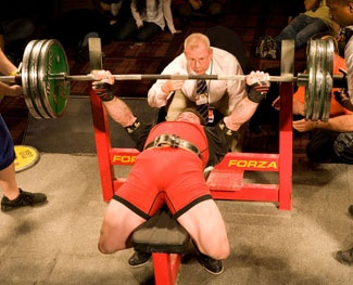 to do bench press you bring the bar to your chest and fully extend your arms