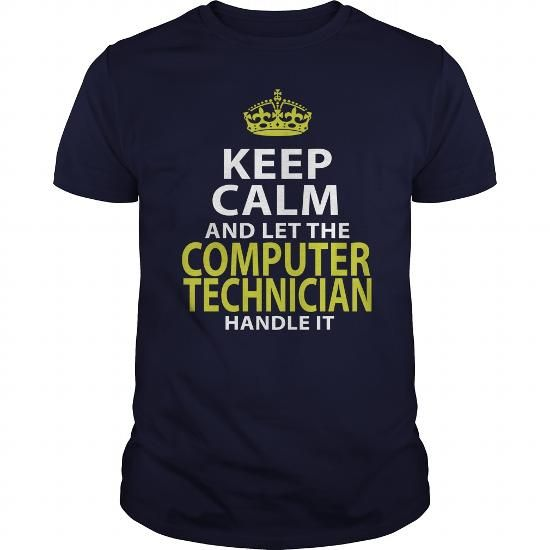 COMPUTER TECHNICIAN - KEEPCALM GOLD #Tshirt #style. PRICE CUT  => https://www.sunfrog.com/LifeStyle/COMPUTER-TECHNICIAN--KEEPCALM-GOLD-Navy-Blue-Guys.html?60505