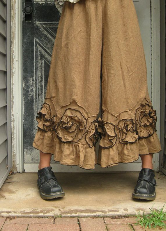 Ginger Flouncey Swirl Bloomers XL by sarahclemensclothing on Etsy, $110.00