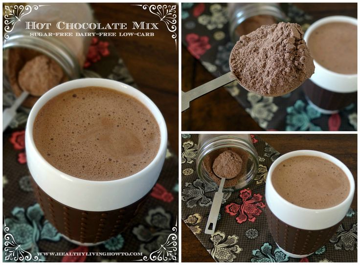 Sugar-Free Hot Chocolate 1 c. Cocoa Powder 1 c. Granular Sweetener - for sugar-free I recommend Swerve or Birch Xylitol 1 tsp. Celtic Sea Salt Directions  In a pint jar with lid, combine cocoa, sweetener and salt. Mix with a spoon. Store sealed in cupboard.
