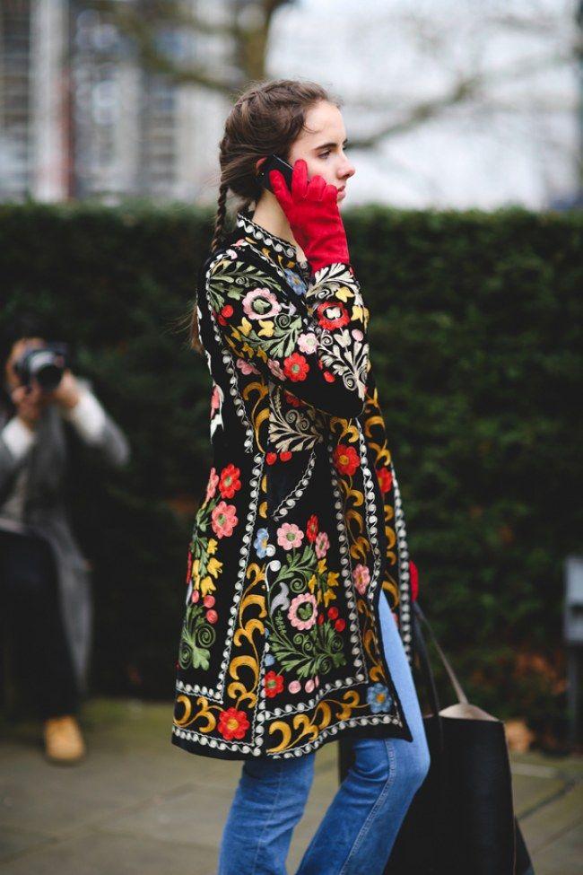 That coat!!!!!!!!                                                                                                                                                                                 Más