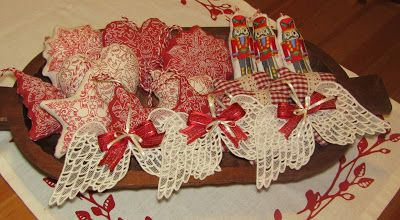 Moje tvořeníčko...: Vánoční ozdoby