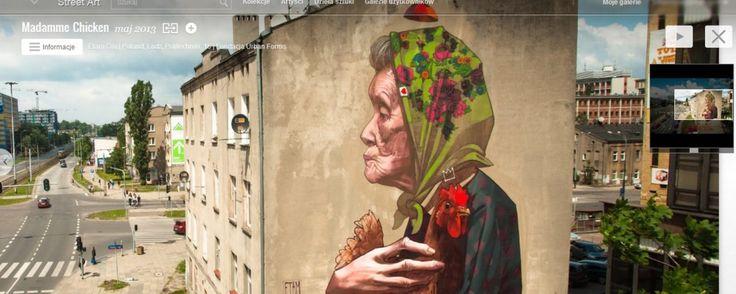 Globalne repozytorium sztuki ulicznej od Google