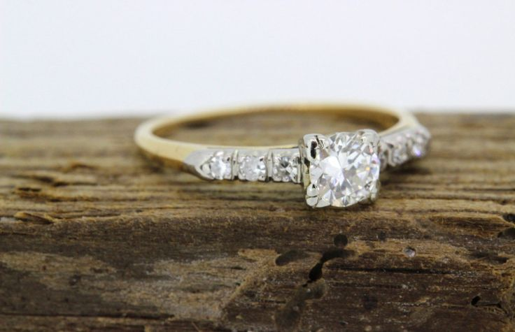 25 Vintage Engagement Rings You Can Actually Afford
