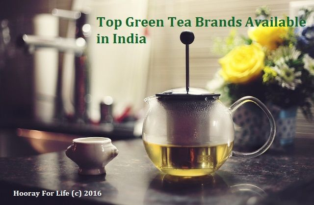 Top green tea brands available in India