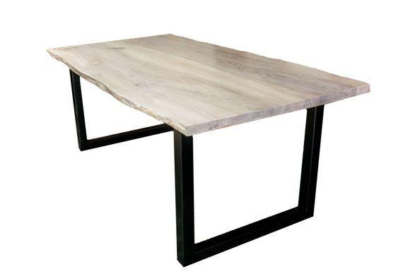 Industrial teble - natural ash - loft table