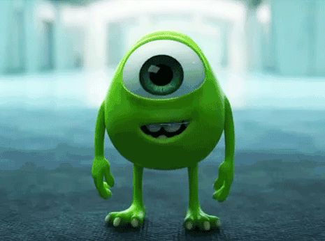 Baby Mike Wazowski, the cutest gif you'll see today…