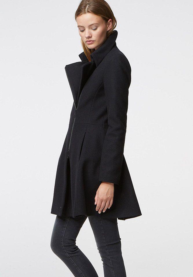 Hallhuber Mantel mit Zipper im Universal Online Shop