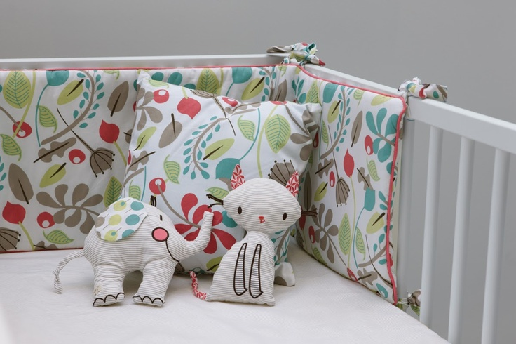 Ella & Otto Bumper & Sheet Set Garden Design