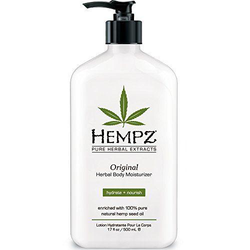 Hempz Herbal Moisturizer, 17-Fluid Ounce (500 ml) (Package may vary) Hempz http://www.amazon.com/dp/B000OYJ9AO/ref=cm_sw_r_pi_dp_nZTMvb0CJWSWT