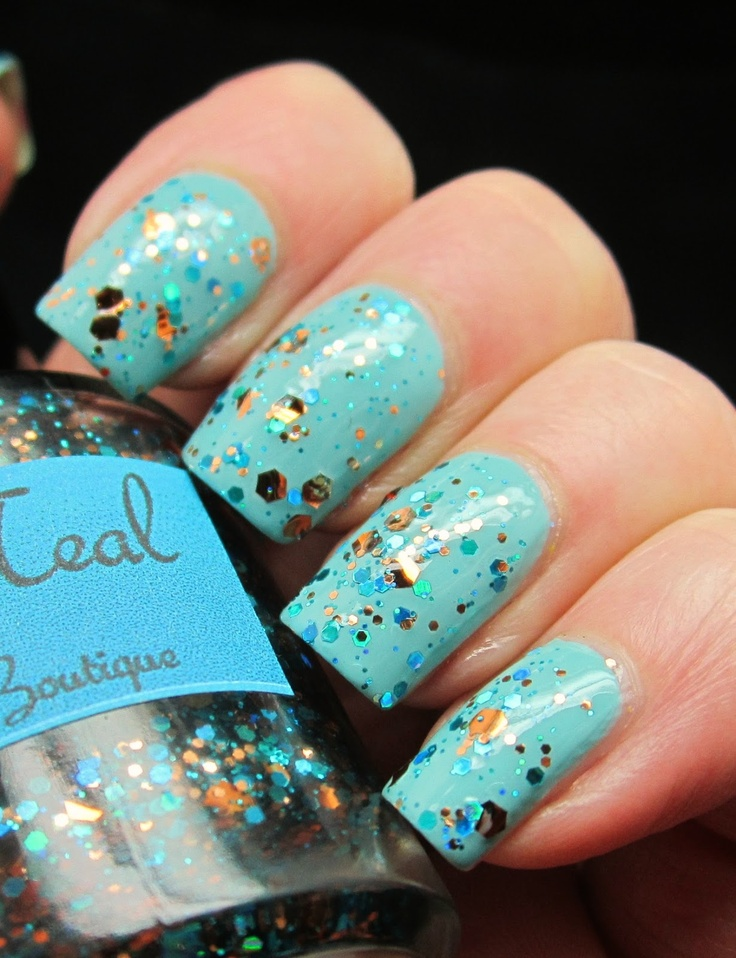 Amy S Nail Boutique Cop A Teal