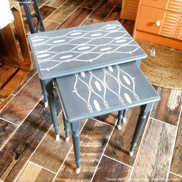 Amazing Stencil Projects Ideas for Insta Inspiration   The Best 18  Instagram Photos using Royal. 480 best Stenciled and Painted Furniture images on Pinterest