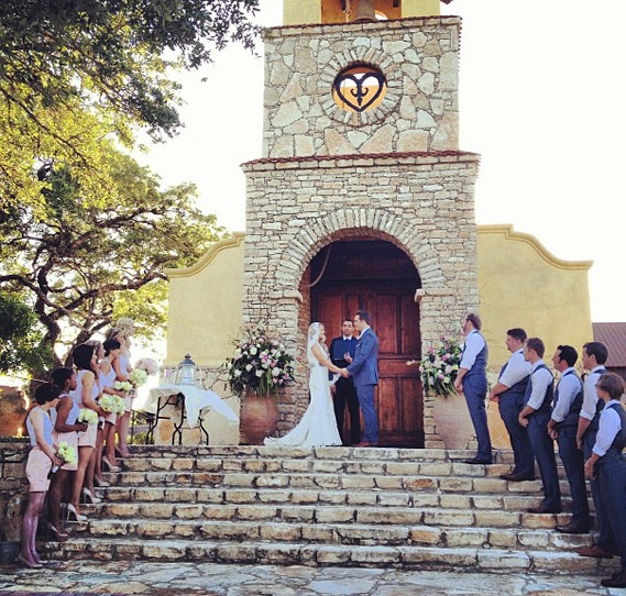 Scott Porter Wedding at Camp Lucy in Austin