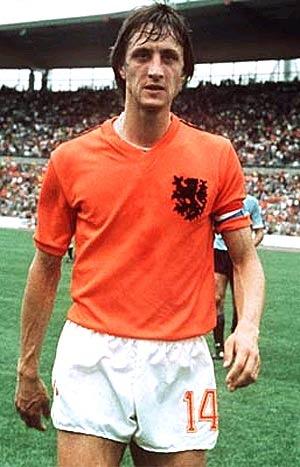 cruiff, el segundo mejor, qué buen jugador fue este holandes
