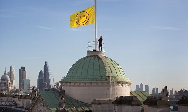 Jeremy Deller flies flag for Thomas More's Utopia, 500 years later - http://streetiam.com/jeremy-deller-flies-flag-for-thomas-mores-utopia-500-years-later/