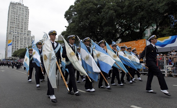 Revolution of May (Revolución de Mayo); Argentina; May 25; Also called Day of the Nation (Día de la Patria). Honors Argentina's first revolt against Spain and the proclamation of the first independent government, in 1810.