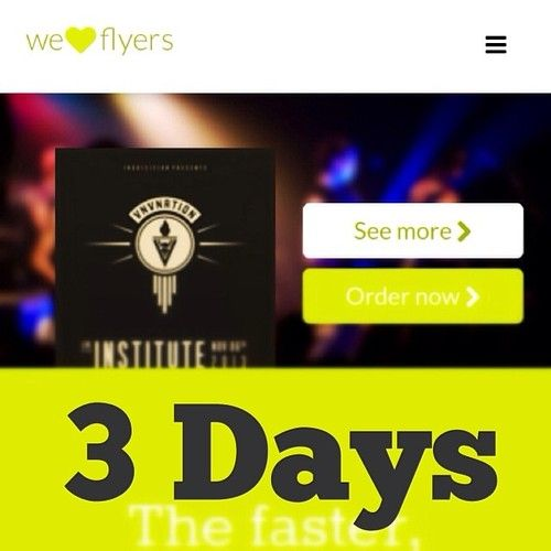 The countdown begins! New website launches in THREE days!