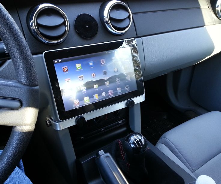 I've never liked the window suction mounts for phones and tablets so I designed a pretty simple tablet/iPad bracket for a 2005 Mustang. The parts are ...