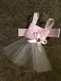 Tiny Tutu Hairclip.