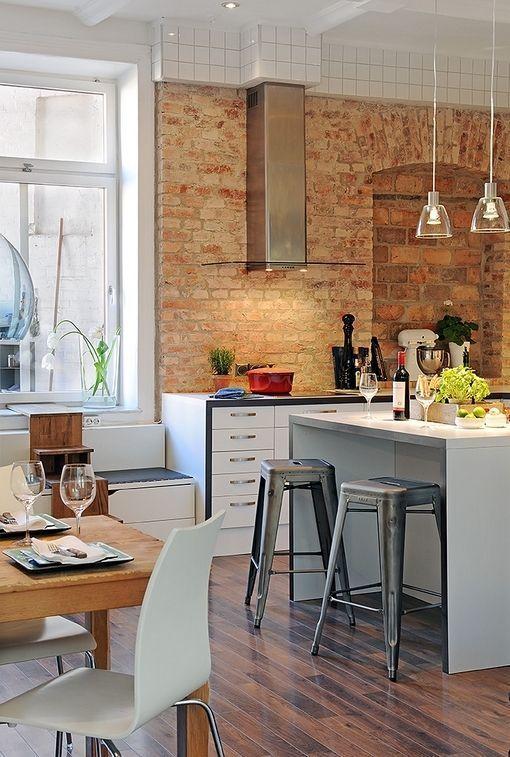 Pallets reciclados en la cocina. Ideas para integrar pallets reciclados en nuestra cocina. Inspiración, cocinas decoradas con pallets.