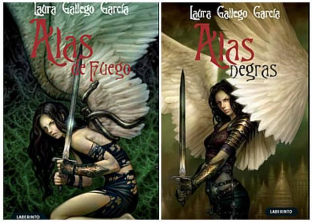 """""""Alas de fuego/Alas negras"""" de Laura Gallego García"""