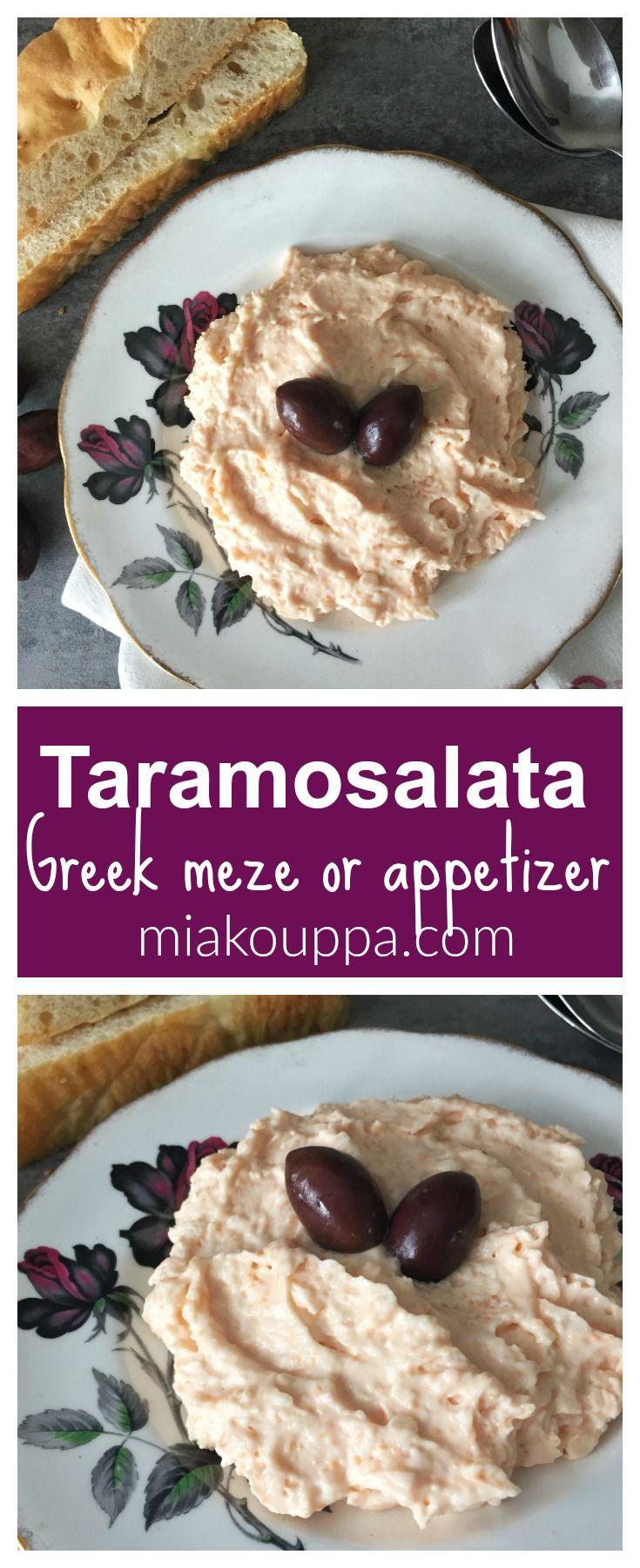 Taramosalata  (Ταραµοσαλάτα), a Greek Traditional maze.  Try this creamy, dreamy and perfect recipe :)  #Greek #meze #dip #taramosalata #nistisima