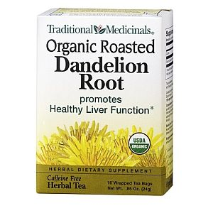 dandelion tea was recommended on Dr. Oz for bloating
