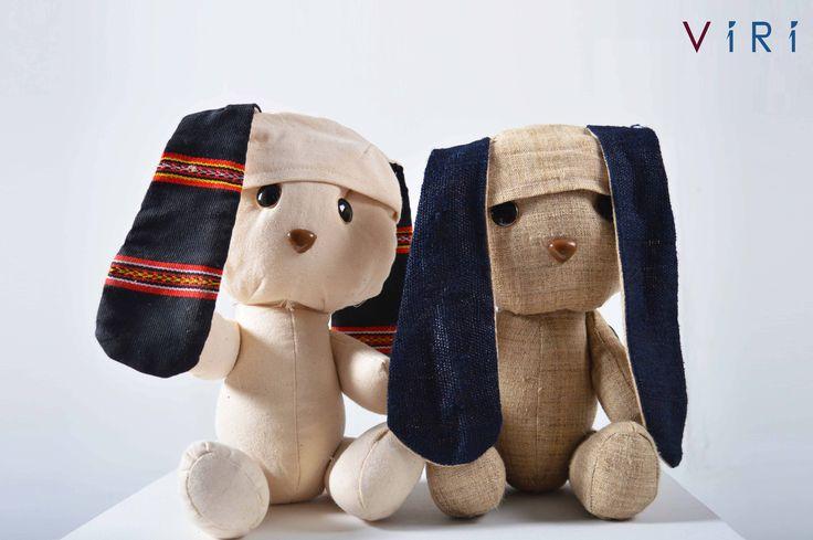 Stuffed toys - Rabbits set #VIRI #KIDS #TOYS #ANIMALS