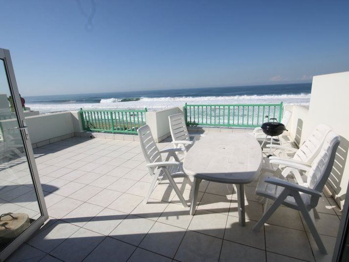 2 Skiathos is set in the Salt Rock area in KwaZulu-Natal. It is situated on the beachfront and has direct access to the private beach.<br /><br />There are three bedrooms in this apartment. The main bedroom opens up onto a patio from where guests have an amazing view of the sea. There is also a lounge area with a television with DStv access and a DVD player. The fully equipped kitchen has a fridge, a stove, a microwave and a washing machine. A small lounge leads out onto...