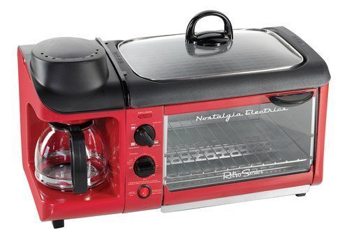 Breakfast-3-In-1-Breakfast-Center-Retro-Series-Multi-Functioning-Toaster-Oven