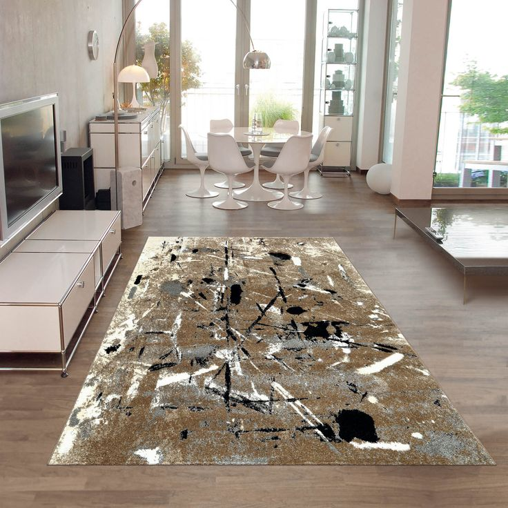 Slam Rugs Feature An Abstract Design With Contrasting Shades Of Grey Black Cream And