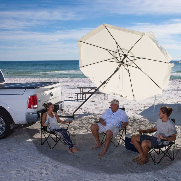 Morshade 9 ft. 360 Patio & Portable Shade Umbrella with Additional Base Stand Attachments - MS360NEU
