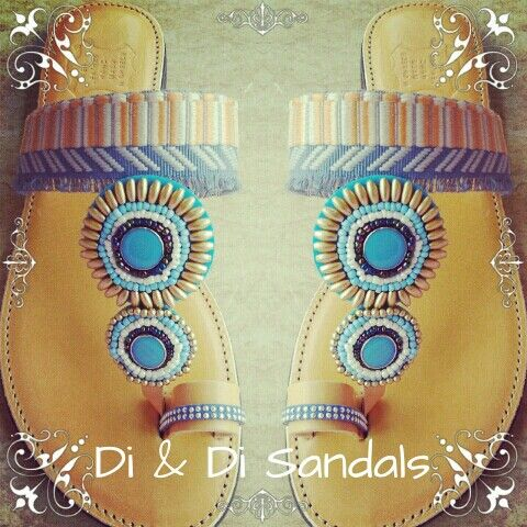 Di & Di Ethnic leather sandal