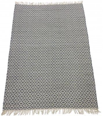 Rag rugs - Lykke (grey/ice blue)