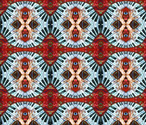 CRAZY FINGERS by Sue Duda fabric by suedudadesigns on Spoonflower - custom fabric