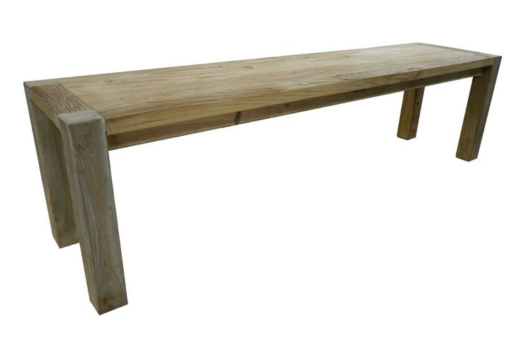New French Provincial Large DINING Rustic Recycled Timber BENCH SEAT Wooden Seat in Home & Garden, Furniture, Dining Room Furniture | eBay