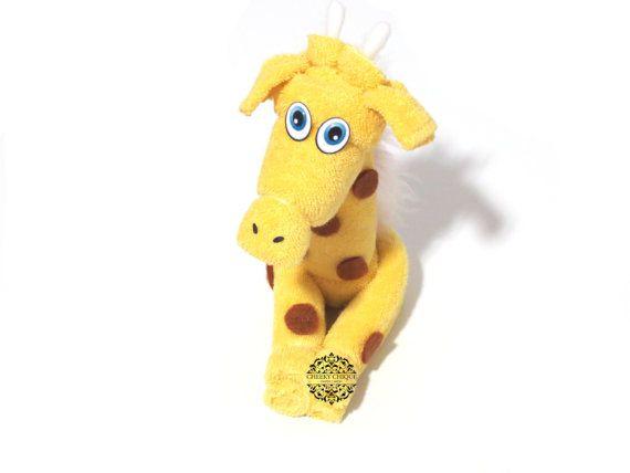 Washcloth Giraffe  by Cheeky Chique Baby