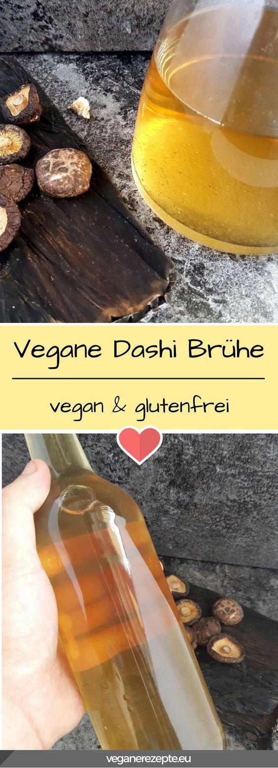 #Dashi ist eine der wichtigsten Zutaten in der japanischen Küche. Doch leider ist es in der Regel nicht #vegan. Deshalb findet ihr hier eine vegane Version. #japan #japanese #recipe #rezept #kitchen #brühe #dashistock #stock #glutenfree #glutenfrei #asiatisch