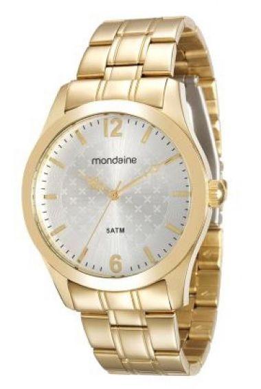78685LPMVDA1 Relógio Feminino Mondaine  Aço Dourado