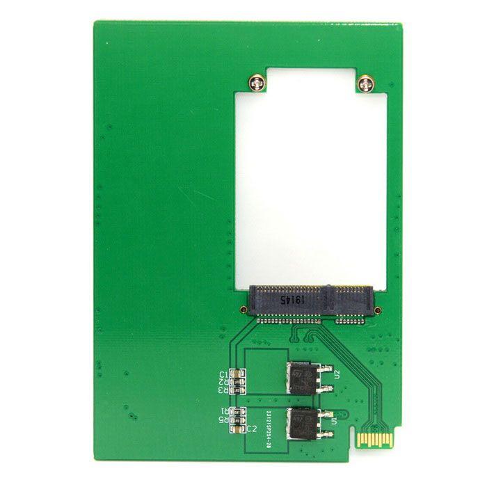 CY SA-204 WD5000MPCK SFF-8784 SATA Express to mSATA Cards PCBA