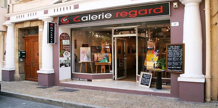 COTE JARDIN A LA GALERIE REGARD - Restauration Sainte-Maxime   Golfe de…