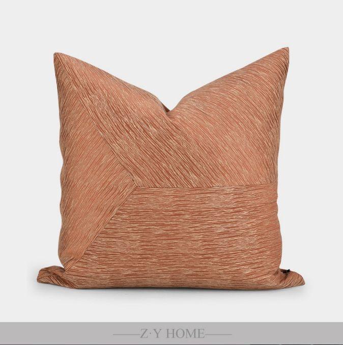 Zhiyue Home Modern Simple Model Room Designer Sofa Pillow Pinstripes Crosswise Assembly Ad 1 致悦家居现代简约样板房设计师沙发抱枕细条 In 2020 Sofa Pillows Pillows Decorative Pillows