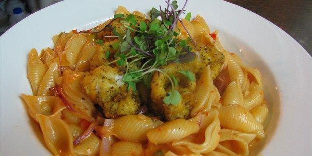 Lemon pepper Squid Pasta