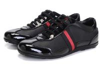 Nave de la gota de moda italiana Marca Mens Casual zapatos de charol con el acoplamiento de América Copa Confort zapatos para hombres P123002