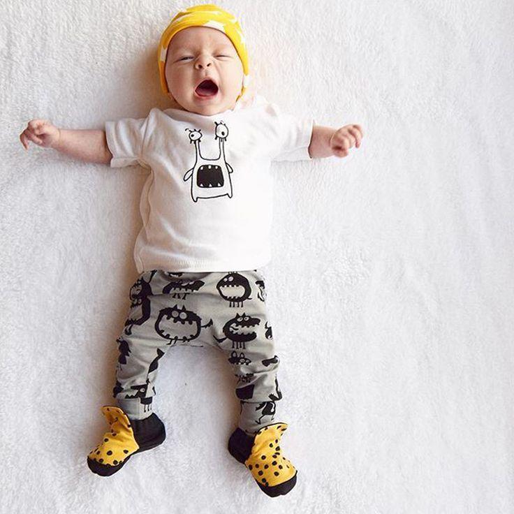 Summer Baby Boy 2pcs Clothes Set